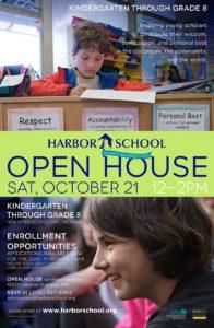Harbor School Open House (K-8) @ Harbor School | Vashon | Washington | United States